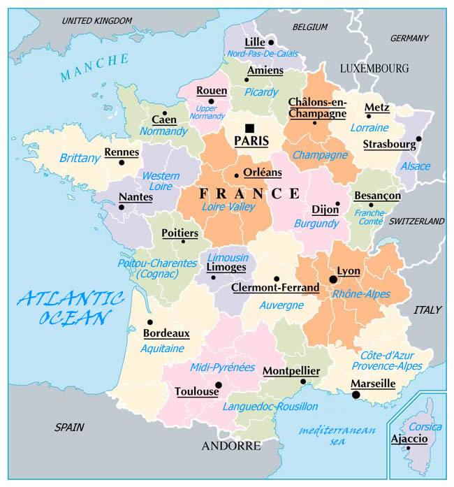 france regions