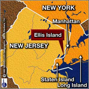 Sailing Schools Here There And Everywhere Uncategorized History - Ellis island on us map